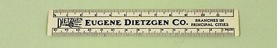 """Party Supplies Eugene (Vintage 6"""" EUGENE DIETZGEN Company Plastic Ruler / Drafting -Surveying Supplies)"""
