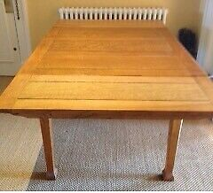 Vintage Solid Oak extendableTtable