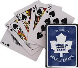 TORONTO MAPLE LEAFS ........ NHL playing cards
