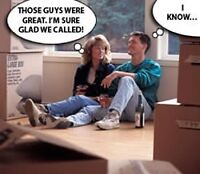 ANYTIME MOVERS FULLY INSURED AND BONDED @ 416-889-6559