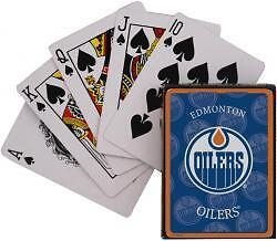 EDMONTON OILERS ........ NHL playing cards