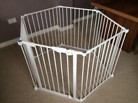 Lindam Safe and Secure Metal Playpen - New in box