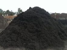 Black Mulch & Jarrah crushed mulch $140 per M3 Delivered Perth CBD Perth City Preview
