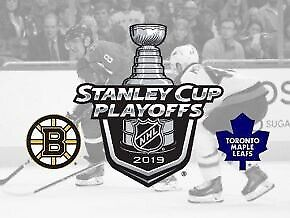 Leafs vs Boston - GOLDS- Game6- Below face value