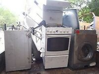 SCRAP COOKERS AND WASHING MACHINES