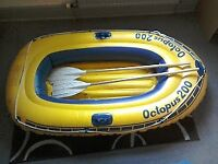 Inflatable dinghy. Octopus 200.