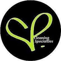 Cleaning Lady Available Now!