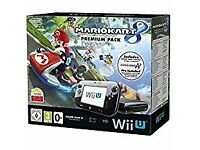 Wii U console 32gb mario kart installed no box