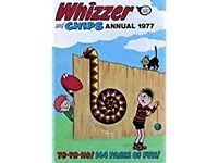 WHIZZER AND CHIPS ANNUAL 1977 and CASPER'S GHOSTLAND ANNUAL. (CASPER THE FRIENDLY GHOST.)