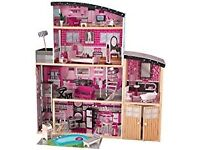 DOLLS HOUSE LARGE KIDKRAFT SPARKLE MANSION NEW BOXED
