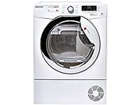 Hoover Aquavision DNHD913A2C Free Standing 9KG Condenser Tumble Dryer White. With 16 month Guarantee