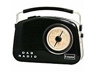 RETRO STEEPLETONE DAB DIGITAL RADIO