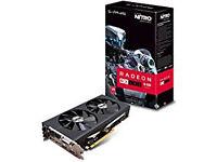 Sapphire AMD RX480 Nitro+ 8 GB GDDR5 Memory FinFET