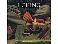 Spiritual Book Bundle, dreams, Crystals, I ching collectable