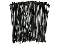 1000 CABLE TIES 250MM X 4.8 BRAND NEW GARDENING PLANTS RUNNER BEANS ALLOTMENTS TOMATO PLANTS