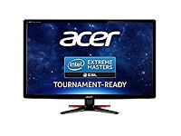 Acer GN246HLBbid 24 inch Wide FHD LED Gaming Monitor with 144 Hz, 1 ms, 350 nits, DVI, HDMI