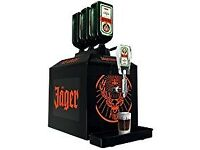 Selling Un-Opened, Brand New Jager Tap Machine.