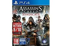 ASSASSINS CREED SYNDICATE PS4 NEW CONDITION