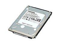 Toshiba MQ01ABD100 1TB SATA 3GB/s 5400RPM 2.5 Inch 9.5mm Internal Hard Drive
