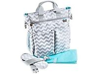 Baby diaper bag new with tags