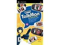 Psp Talkman Talk abroad with psp X14 dvd's