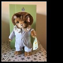 Steiff Beatrix Potter Peter Rabbit & Friends - Tom Kitten 100 Years Anniversary Limited Edition