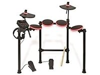 Redline Drum kit with sit and sticks £100, the kit itself is 200 new barely used.