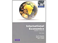International Economics Theory & Policy - (Book, Used, Good Condition)