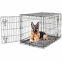 hi i have two dog cages for sale one bigger than other pics to follow