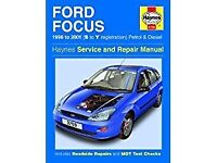 Ford Focus service and repair manual 1998 to 2001