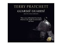 THE COLOUR OF MAGIC AND GUARDS! GUARDS! TERRY PRATCHETT AUDIO CD BOOKS