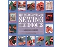 2 x Books - Alterations & Repairs - Encyclopedia of Sewing Techniques