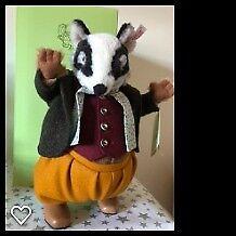 Steiff Beatrix Potter Peter Rabbit & Friends -Tommy Brock Limited Edition 62 of 1500