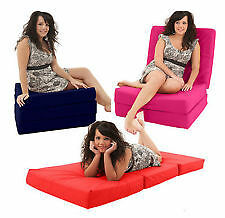 Z-bed chairbed.