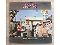 AC/DC-Dirty Deeds Done Dirt Cheap...1ST UK PRESSING Atlantic 1976 - 'PORKY/PECKO'
