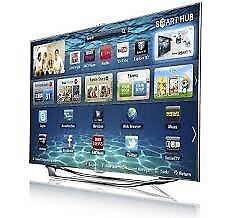 """55"""" samsung smart tv £290 price is negotiable plus tv is guaranteed ."""
