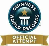 Help us break a Guinness World Record Dec 1!