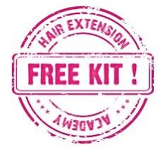 Hair Extension Course - 6 methods - $610 with kit