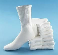 Lot of 12 pairs of white sports socks size 9-11 Brand new London Ontario image 1
