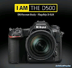 BRAND NEW NIKON D500 WITH 16-80MM LENS KIT​