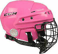 CCM HT04 Hockey Helmet - Pink (small)