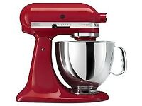 RED KITCHEN AID FOOD MIXER