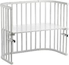 BabyBay co-sleeper cot in white