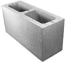 200 blocs en ciment 6X8X16 à 1,25 $