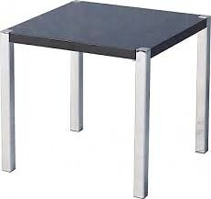 high gloss lamp table