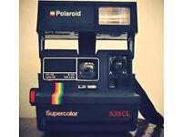 Vintage Polaroid Supercolor 635CL Instant Camera