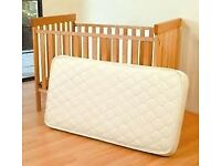 EAST COAST COT/COTBED/JUNIORBED MOTHERCARE MATTRESS ONLY £15!!!