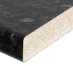 black kitchen worktops for sale 3.0m x 40mm £30.00