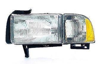 94 95 96 97 98 99 00 01 02 Dodge Ram Headlight DRIVER NEW Headlamp Truck