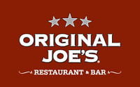Original Joes 130th is Hiring PT Line Cooks!!!